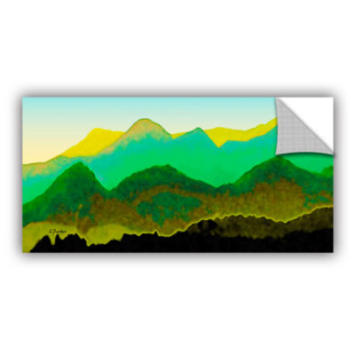 Brushstone Pyrenees In Spring Removable Wall Decal