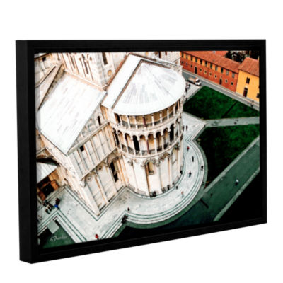 Brushstone Pisa's Duomo Gallery Wrapped Floater-Framed Canvas Wall Art