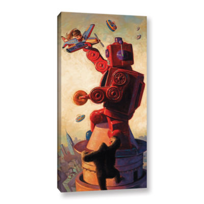 Brushstone Robo Kong Gallery Wrapped Canvas Wall Art