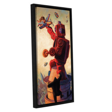 Brushstone Robo Kong Gallery Wrapped Floater-Framed Canvas Wall Art