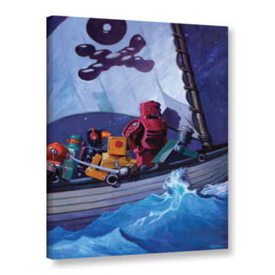 Brushstone Robpirates Gallery Wrapped Canvas WallArt
