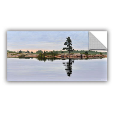 Brushstone Reflection On The Bay Removable Wall Decal