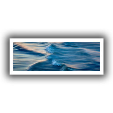 Brushstone Rolling Waves Canvas Wall Art