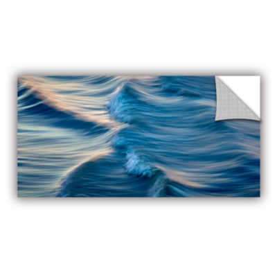 Brushstone Rolling Waves Removable Wall Decal