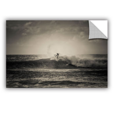 Brushstone Ride A Wave` Removable Wall Decal