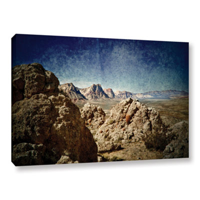 Brushstone Powder Gallery Wrapped Canvas Wall Art