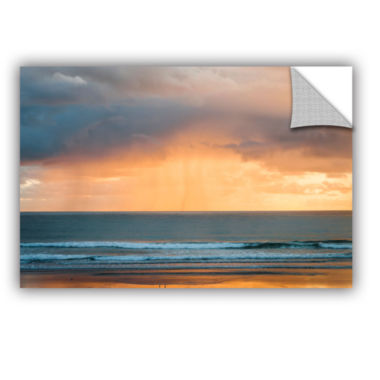 Brushstone Rain At Sunrise Removable Wall Decal