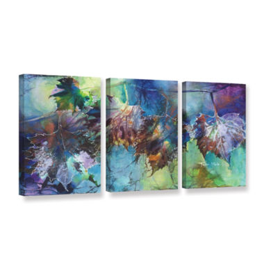 Brushstone Reverence 3-pc. Gallery Wrapped CanvasWall Art