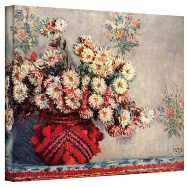 Brushstone Red Vase Gallery Wrapped Canvas Wall Art