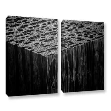 Brushstone Precipice 2-pc. Gallery Wrapped CanvasWall Art