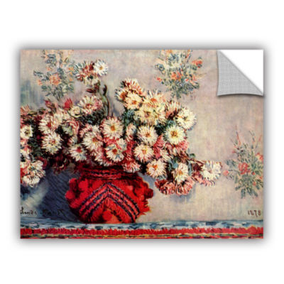 Brushstone Red Vase Removable Wall Decal