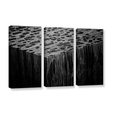 Brushstone Precipice 3-pc. Gallery Wrapped CanvasWall Art