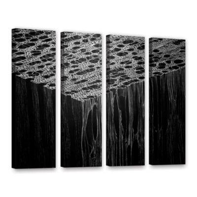 Brushstone Precipice 4-pc. Gallery Wrapped CanvasWall Art