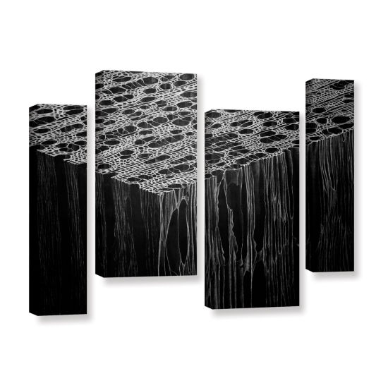 Brushstone Precipice 4-pc. Gallery Wrapped Staggered Canvas Wall Art