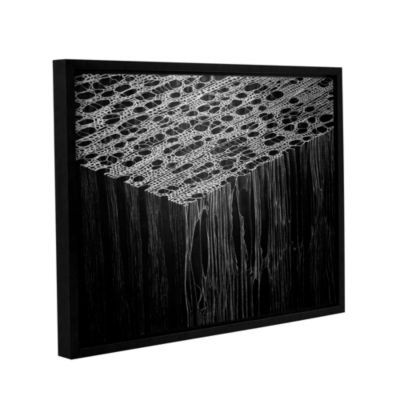 Brushstone Precipice Gallery Wrapped Floater-Framed Canvas Wall Art