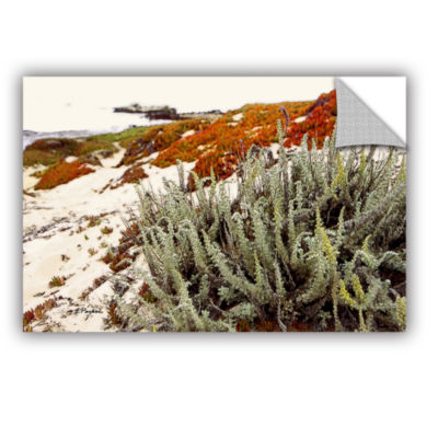 Brushstone Red Ice On Beach III Removable Wall Decal