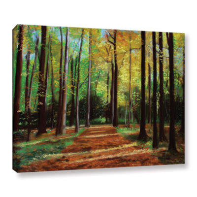 Brushstone Poland Woods Gallery Wrapped Canvas Wall Art