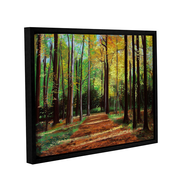 Brushstone Poland Woods Gallery Wrapped Floater-Framed Canvas Wall Art