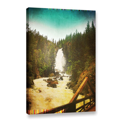 Brushstone Pines Gallery Wrapped Canvas Wall Art