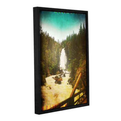 Brushstone Pines Gallery Wrapped Floater-Framed Canvas Wall Art