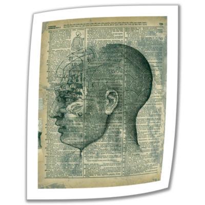 Brushstone Right Brain Thinker Canvas Wall Art