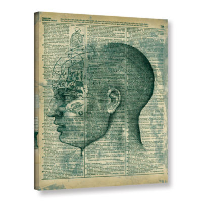 Brushstone Right Brain Thinker Gallery Wrapped Canvas Wall Art