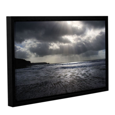 Brushstone Poldhu Gallery Wrapped Floater-Framed Canvas Wall Art
