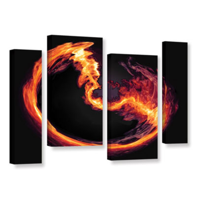 Brushstone Purify 4-pc. Gallery Wrapped StaggeredCanvas Wall Art