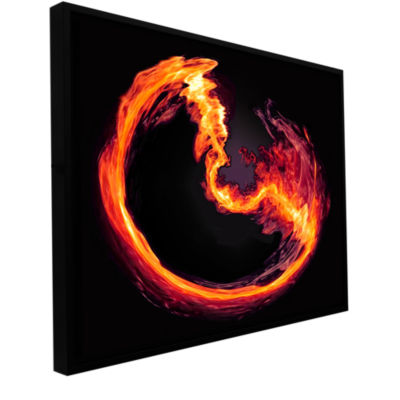 Brushstone Purify Gallery Wrapped Floater-Framed Canvas Wall Art