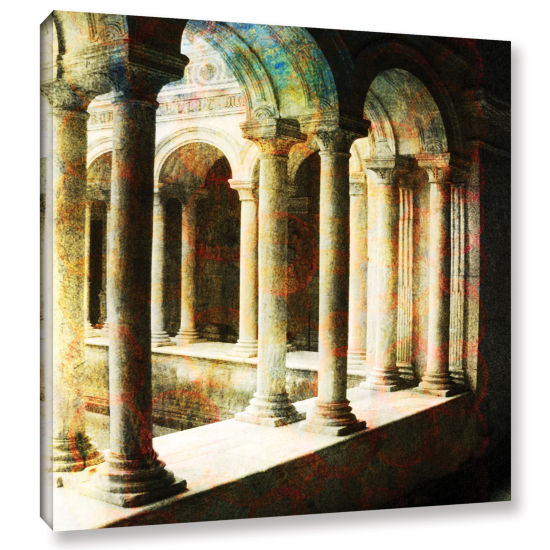 Brushstone Roman Architecture Gallery Wrapped Canvas Wall Art