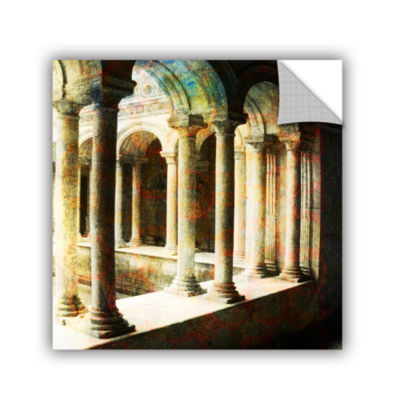 Brushstone Roman Architecture Removable Wall Decal