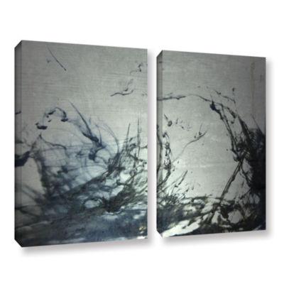 Brushstone Reincarnate 2-pc. Gallery Wrapped Canvas Wall Art