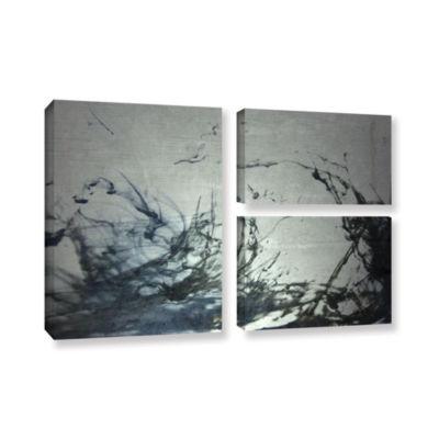 Brushstone Reincarnate 3-pc. Flag Gallery WrappedCanvas Wall Art