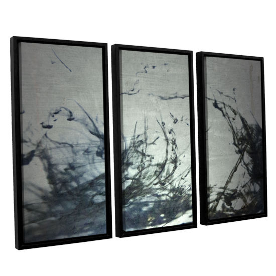 Brushstone Reincarnate 3-pc. Floater Framed CanvasWall Art