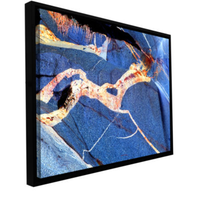 Brushstone Pony Rock Gallery Wrapped Floater-Framed Canvas Wall Art