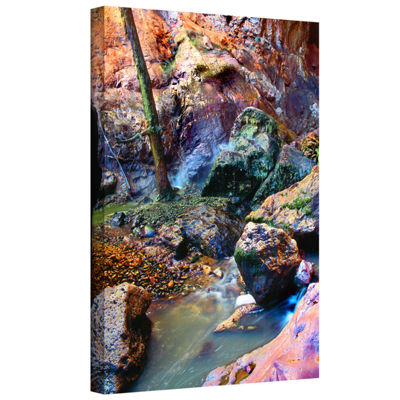 Brushstone Pine Creek Morning Gallery Wrapped Canvas Wall Art