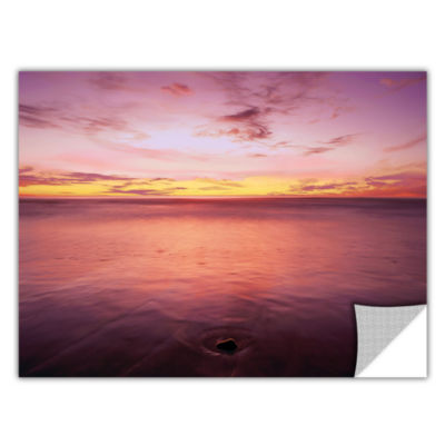 Brushstone Ponto Beach Twilight Removable Wall Decal