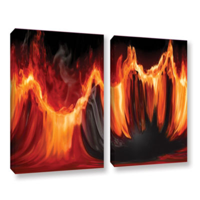Brushstone Purify III 2-pc. Gallery Wrapped CanvasWall Art