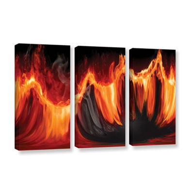 Brushstone Purify III 3-pc. Gallery Wrapped CanvasWall Art