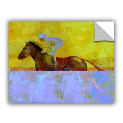 Brushstone Rising Steed Removable Wall Decal