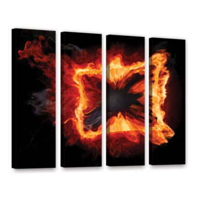 Brushstone Purify Iv 4-pc. Gallery Wrapped CanvasWall Art