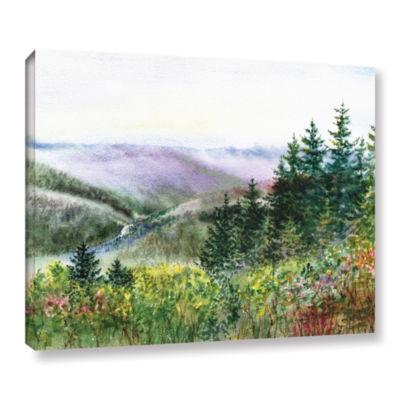 Brushstone Redwood Creek Gallery Wrapped Canvas Wall Art