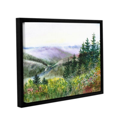 Brushstone Redwood Creek Gallery Wrapped Floater-Framed Canvas Wall Art