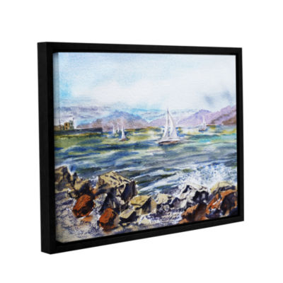 Brushstone Richmond Shore Gallery Wrapped Floater-Framed Canvas Wall Art
