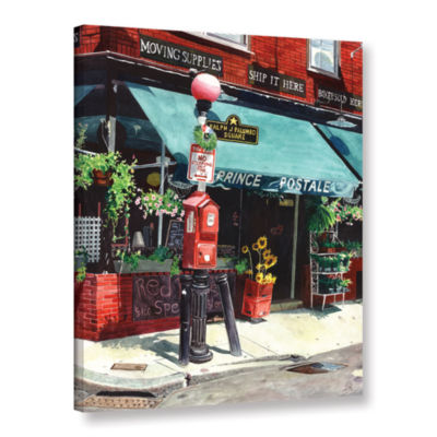 Brushstone Prince Postale Gallery Wrapped Canvas Wall Art