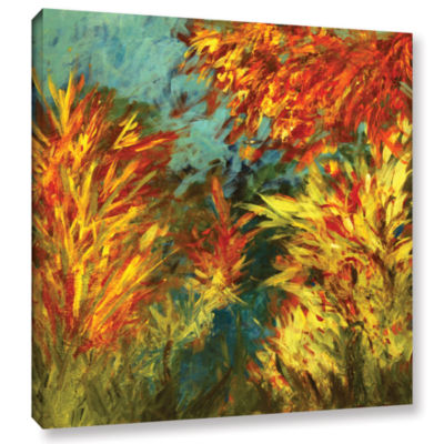 Brushstone Quiet Lake ! Gallery Wrapped Canvas Wall Art