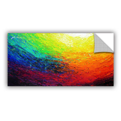 Brushstone Rainbow Removable Wall Decal