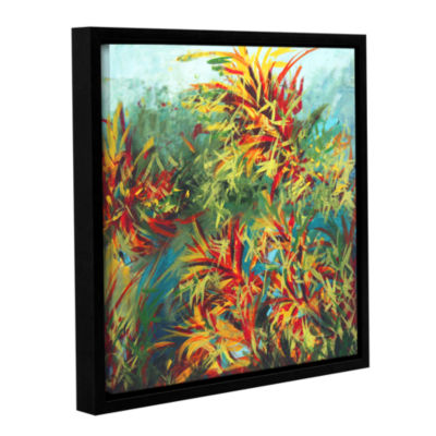 Brushstone Quiet Lake II Gallery Wrapped Floater-Framed Canvas Wall Art
