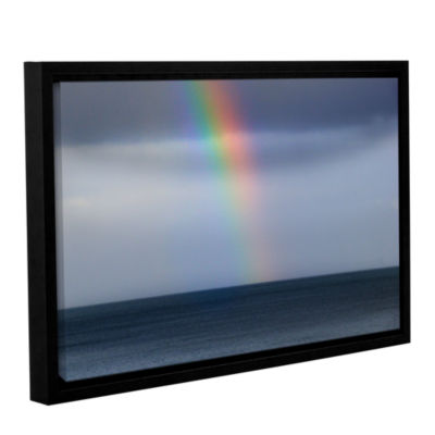 Brushstone Rainbow Sky Gallery Wrapped Floater-Framed Canvas Wall Art