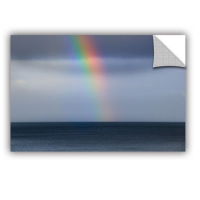 Brushstone Rainbow Sky Removable Wall Decal